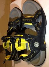 Timberland Outdoor Performance Hiking Trail Sandals Black Yellow Men's Size 13