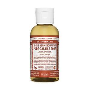 Dr. Bronner Organic Eucalyptus Pure-Castile Liquid Soap 60ml
