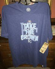 Kansas City Royals 47 Brand Men's Scrum t-shirt NWT Size XXL