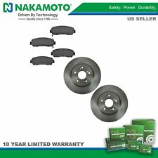 Nakamoto Front /& Rear Premium Posi Ceramic Brake Pad Set Kit for Honda CR-V CRV