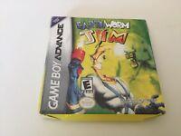Earthworm Jim (Nintendo Game Boy Advance, 2001) GBA NEW