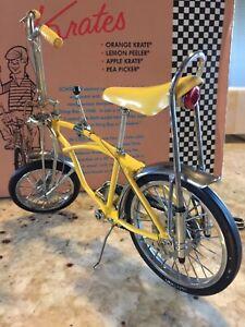 Shwinn Stingray Krate Lemon Peeler Diecast Bike Slightly Used