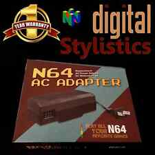 AC Adapter Power Supply Cord (Nintendo 64) NIB (NEW) N64