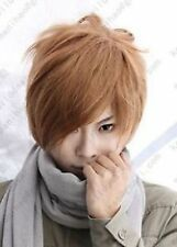 Death Note Light Yagami Short Brown Cosplay party Wig 1095