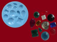 Gems x12 sugarcraft cake decorating silicone mould