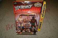 WWF WWE FlexForce SHEAMUS vs KOFI KINGSTON w/ US Championship Belt NEW
