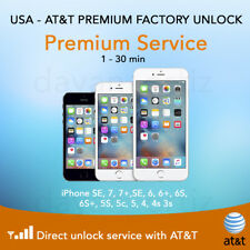 Factory Unlock ATT AT&T ✅ DIRECT SOURCE✅  iPhone 4 4S 5 5C 5S 6 6+ 7 8  ✅  SALE