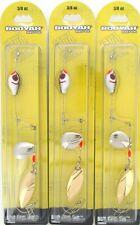 (3) Booyah Bait Company 3/8 Oz Boo Spin Rig Tandem Alpine BYBSRT38685