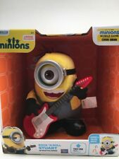 Minions Rock' N Roll Stuart/Sings and Talks Back/Ages 4+/Girls/Boys/Microphone