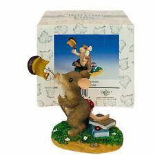 Charming Tails figurine vtg Nib box mouse mice Congraduations Graduation 89/106