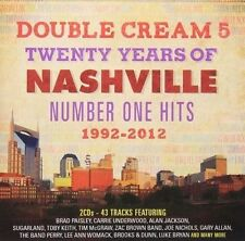 CD on Double Cream 5 Twenty Years of Nashville Number One Hits 1992-2012