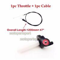 Twist Throttle Cable For Honda CRF XR 50 70 TTR SSR KLX Dirt Pit Bike Motocross