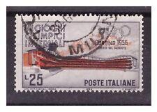 Francobolli della Repubblica italiana rosso usati