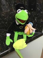 "Pilgrim Kermit The Frog Plush 19"" Thanksgiving Muppets Nanco With Tags"