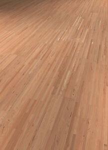 Terhürne Parkett Kirschbaum amerikanisch Multistripe lackiert, 34,99 Euro/m²