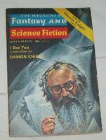 The Magazine of Fantasy & Science Fiction Nov '76 Special Damon Knight Issue