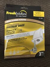 Fresh Solutions Eureka Style C VACUUM BAGS - 70280 - 3  **FAST SHIPPING**