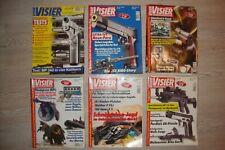 72 Stk Visier - Das internationale Waffen-Magazin von 2002 - 2008
