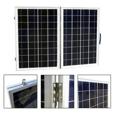 OFF GRID 80W 12V FOLDING PORTABLE SOLAR PANEL KIT CAMPER CARAVAN POWER GENERATOR
