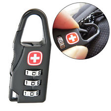 Mini Alloy 3 Dial Safe Number Code Padlock Combination Luggage Lock High QualiDP