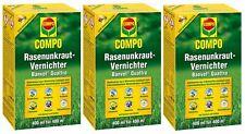 Sparset: 3 x COMPO Rasenunkraut-Vernichter Banvel® Quattro, 400 ml
