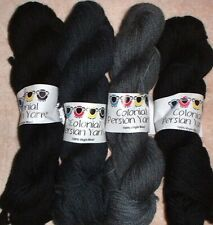 Colonial 3ply Persian Wool Yarn Needlepoint Crewel 1220 Black & Charcoal Family