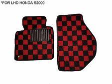 99-09 JDM Fabric Custom Fit Honda S2000 Floor Mats Interior Carpets LHD