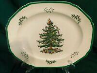 "I2 - Spode England Christmas Tree Serving / Meat Platter 14"""