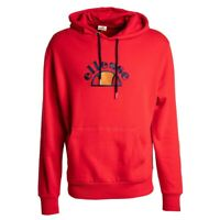 Ellesse Arc OH Pull-Over Red Men's Hoodie SHY05742-625 size M MSRP $75