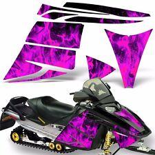 Decal Graphic Kit Ski Doo Rev Skidoo Sled Snowmobile Sticker Wrap 03-09 ICE PINK