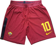 totti roma shorts player issue 2016 2017 player issue magazzino Authentic