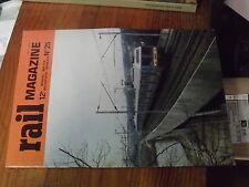 8µ? Revue Rail Magazine n°25 Histoire Fives Lille Automotrice ZTRG Z6400 Cergy