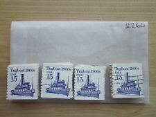 # 2260 x 100 Used Us Stamps Lot Tug Boat Issue See our other lots