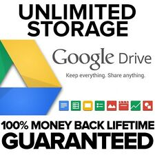 NXTLVL - Unlimited Google Drive - Cloud Storage - Lifetime - 100% Guaranteed
