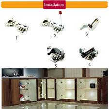 Küche Schlafzimmer Schrank Möbel Scharnier Sensor Licht Universal LED Lampe