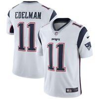 Julian Edelman #11 New England Patriots Men's Nike White Away Game Jersey