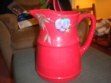Tracy Porter Jolly Ol Snowy Sugar Plum Collection Christmas Pitcher New