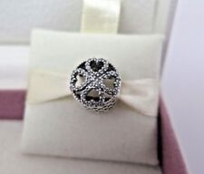 New w/ Box Pandora Petals of Love w/ CZ's Openwork Charm 791808CZ Shamrock Irish