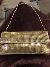 Gold Handbag Small Clutch Sparkly  Party Bag