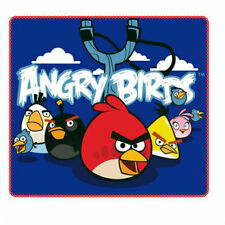ANGRY BIRDS FLEECE BLANKET 120 X 140CM CHARACTER BNWT OFFICIAL LICENSED