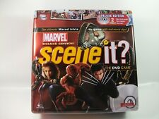 Marvel Scene It Deluxe Tin Board Game No Instructions