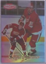 Sergei Fedorov 1999-00 Topps Gold Label Class 1 RED #22  /100 Detroit Red Wings