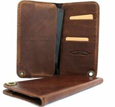 Genuine full leather Case For Galaxy Note 2 Sony Xperia Z2 / Z3 book wallet