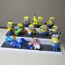 🔴2017 McDONALDS DESPICABLE ME 3 MINIONS SET LOT 12 FIGURES CANADA EDITION