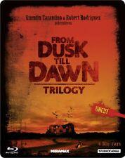 From Dusk Till Dawn - Trilogy / Limited Uncut Steelbook Edition # 4-BLU-RAY-NEU