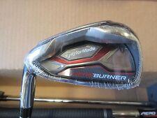 USED TaylorMade Golf AEROBURNER HL 4-PW&AW Iron set steel Stiff LEFT HANDED