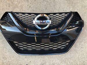 NEW OEM 2016-2018 NISSAN MAXIMA FACTORY GRILLE - ALL BLACK SR MODEL