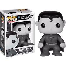 Black & White Superman Figura de vinilo Pop! - Nuevo en la acción