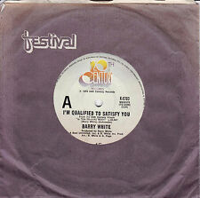 BARRY WHITE I'm Qualified To Satisfy You / Instrumental 45