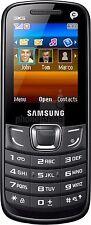 Optus Samsung E3309T Black 2'' Screen 3G VGA Camera Samsung Propriety locked